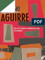 AGUIRRE Sergio - Vivir en el campo no cambiará las cosas