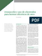 Producción y Uso de Electrodos para Hornos Eléctricos de Acero