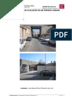 Relatório de Avaliação de um Terreno Urbano
