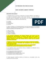 Banco de Preguntas Icfes Ciencias Sociales Falta Table