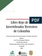 Libro Rojo Invertebrados Colombia
