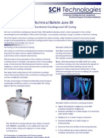 Conformal Coating UV Curing Technical Bulletin June 09