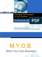 Emerging Technologies in Law Libraries