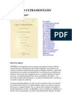 El Clero Ultramontano Jose Ma Samper