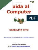 Guida al Computer - Usabilità sito