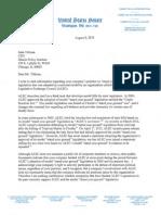 Letter from Sen. Richard Durbin