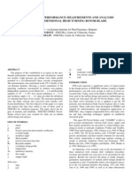 Aerothermal Performance Measurements and Analysis