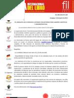 NP- FIL Arequipa 2013 convoca a jóvenes voluntarios para labores logísticas y administrativas