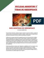 EL PLAN NUCLEAR ARGENTINO Y LAS MENTIRAS DE GREENPEACE- Carlos Andrés Ortiz