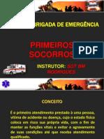 Curso de Brigada - Primeiros Socorros