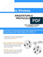 02 - Redes Wireless - Arquitetura e Protocolos
