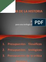 Fundamentos de La Teologia de La Historia