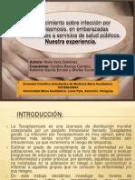Conocimiento sobre infección por Toxoplasmosis, en