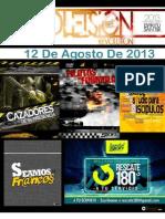 Boletín Juventud Sión 12 de Agosto de 2013