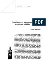 Celso Furtado e o pensamento econômico brasileiro