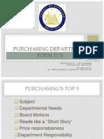 Form 11 Training - Purchasing