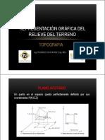 Representacion Grafica Del Relieve Del Terreno