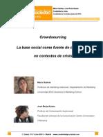 07 Crowdsourcing. La Base Social Como Fuente de Creatividad