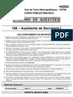 108 Assistente de Secretaria i