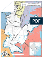 Chatham County District 1 Map