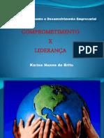 comprometimento e liderança