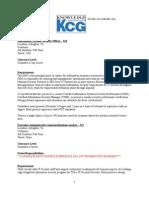 KGC Job Listings for Employees