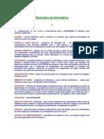 esaf 2009 - Informática Básica - Dicionário de Termos