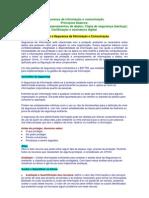 esaf 2009 - Informática Básica - Segurança da informação e comunicação...