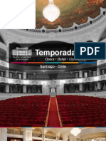 Brochure Teatro Municipal Santiago 2013