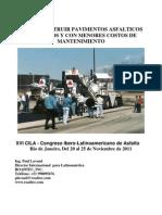 COMO CONSTRUIR PAVIMENTOS ASFÁLTICOS DURADEROS