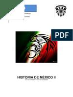Programa y lecturas Historia de México II