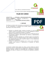 Plan Anual Ciencias 2012