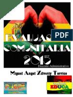 EVALUACION COMUNITARIA 2013