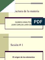 Estructura Materia