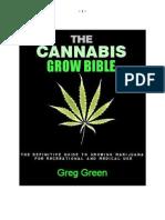 The Cannabis Grow Bible Traduzido