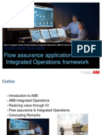 ABB OLGA UGM 2009 - Flow Assurance Applications in an Integrated Operations Framework