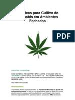 Tecnicas Para Cultivo de Cannabis Em Ambientes Fechados
