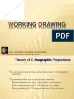 Working Drawing. Orthographic Projections. DRAW10W