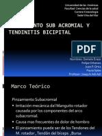 Pinzamiento Sub Acromial y Tendinitis Bicipital[1]