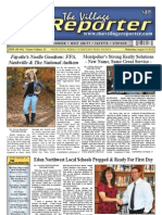The Village Reporter - August 14th, 2013