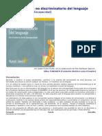 Guía para un uso no discriminatorio del lenguaje
