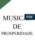 Musicas de Prosperidade