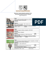 Adquisiciones de La Biblioteca FCPS, Diciembre 2012