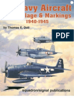 0897474627.Squadron Signal 6087 US Navy Aircraft Camouflage Markings 1940 1945