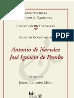 José Ignacio de Pombo y Antonio de Narváez - Escritos económicos I