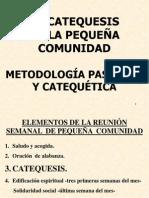 METODOLOGÍA PASTORAL Y CATEQUÉTICA