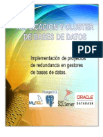 Replicacion y Cluster de Bases de Datos