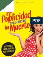 LIBRO La publicidad como la conocemos ha muerto - Ximena Vega Amat y León