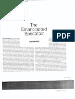 Artforum Ranciere-The emancipated spectator.pdf