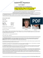 Ronald Madsen Fact Sheet